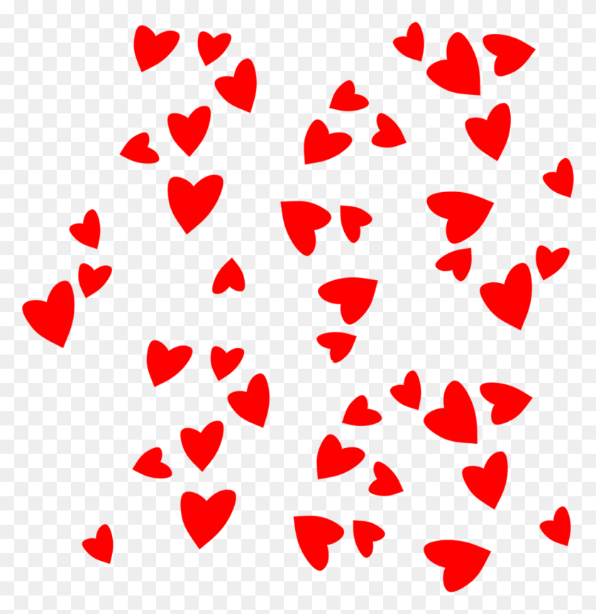 Animated Valentine Clipart - Hearts And Flowers Clipart