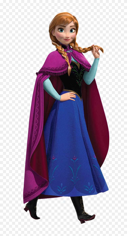 Anna Anna Anna Frozen, Disney Frozen And Frozen - Frozen Characters PNG