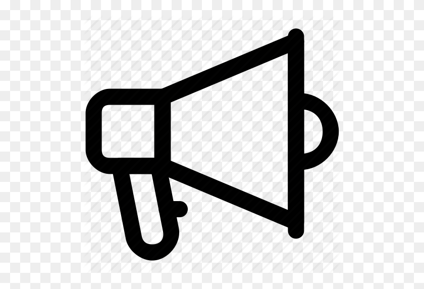 Announcement, Bullhorn, Loud Hailer, Megaphone, Speaking Trumpet - Bullhorn Clipart