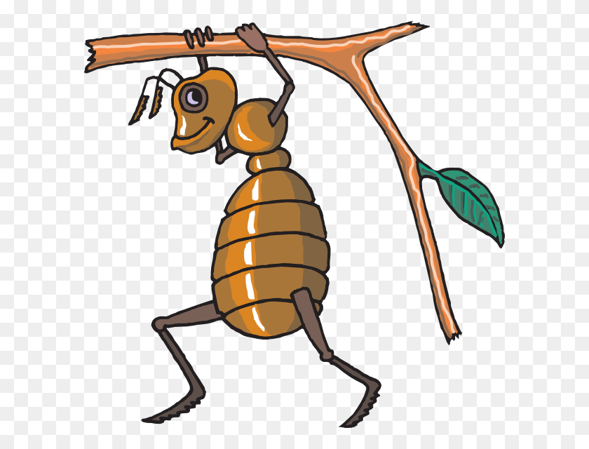 Ant Carrying Twig Clip Arts Download - Ant Clipart PNG
