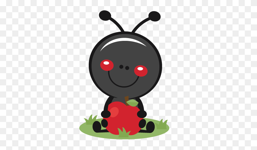 Ant Clipart Apple - Ant Clipart PNG