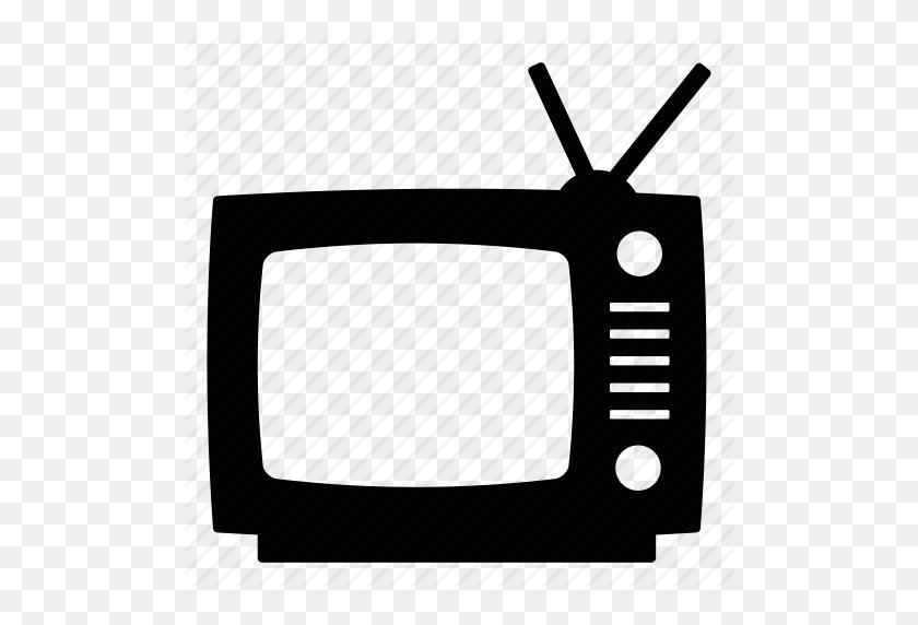 Antenna, Old Tv, Retro Tv, Television, Tv, Vintage, Vintage Tv Icon - Retro Tv PNG