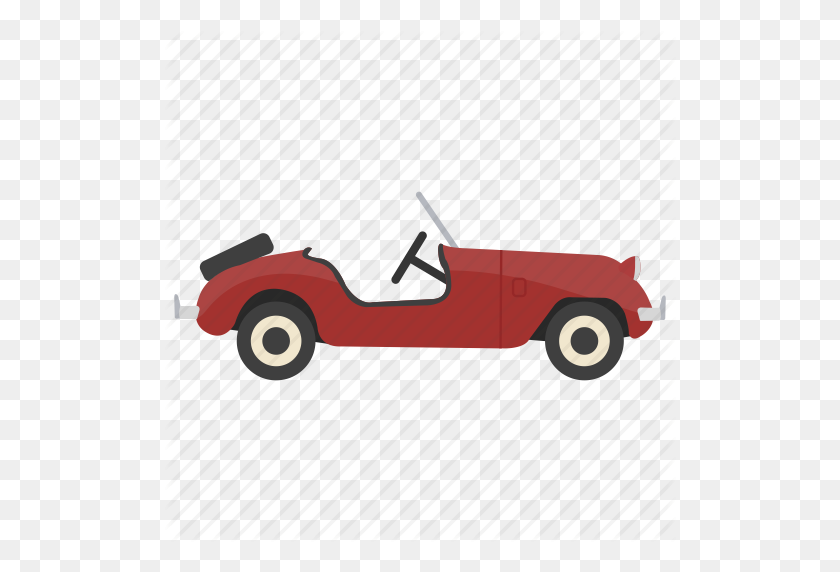 Antique Car, Old Automobile, Old Car, Retro Car, Vintage Car Icon - Old Car PNG
