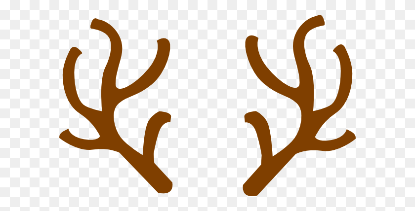 Antler Clip Art - Whitetail Deer Clipart