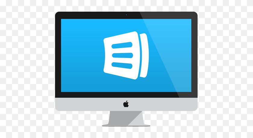 489x400 Anylist For Mac - Mac Desktop PNG