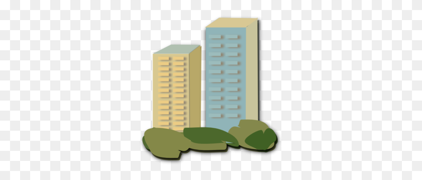 Apartment Clip Art - Skyscraper Clipart