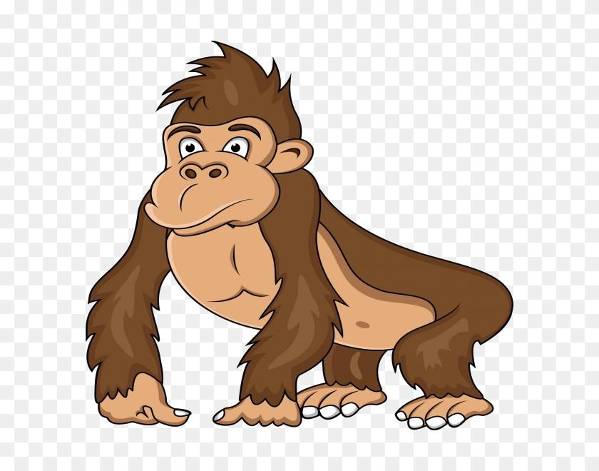Ape Western Gorilla Clip Art - Gorilla Clipart