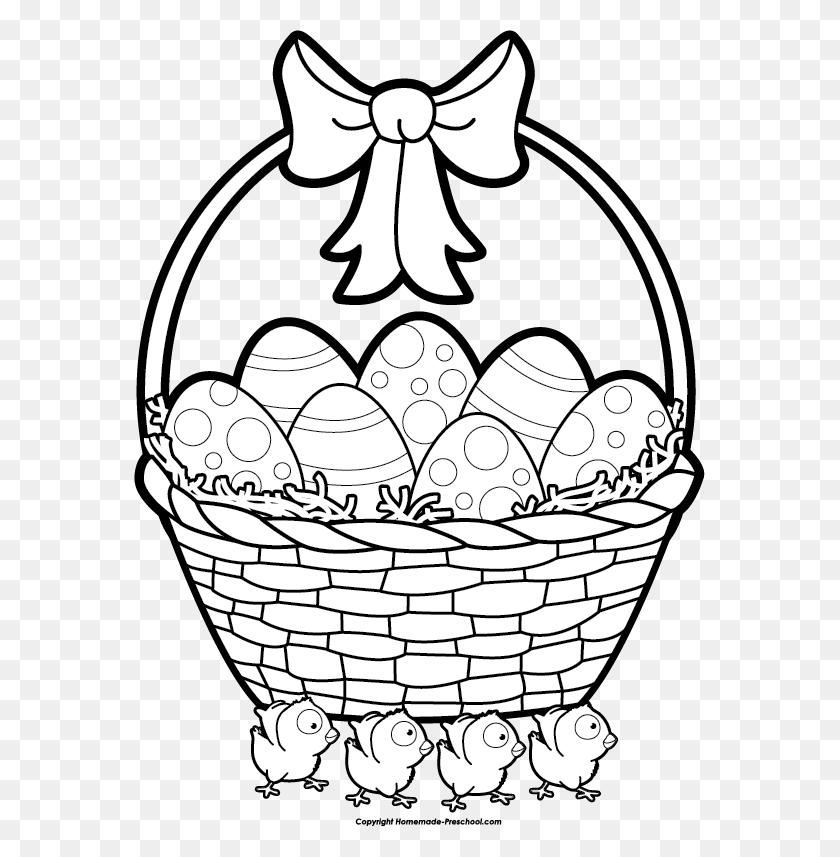 Apple Basket Clipart - Empty Basket Clipart