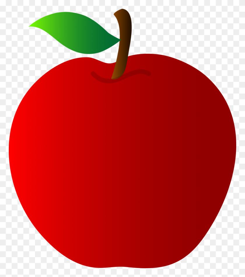 Apple Border Clip Art - Sliced Apple Clipart