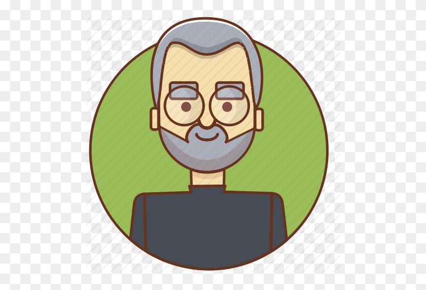Apple, Businessman, Character, Character Set, Man, Person, Steve - Steve Jobs PNG