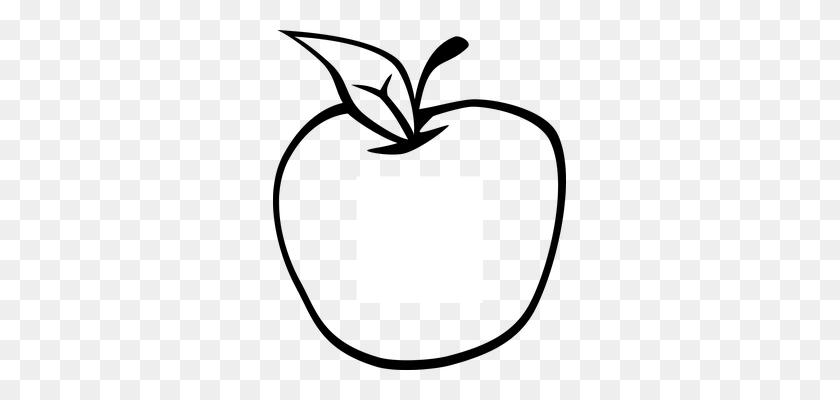 Apple Clipart Sketch - Apple Clipart Transparent
