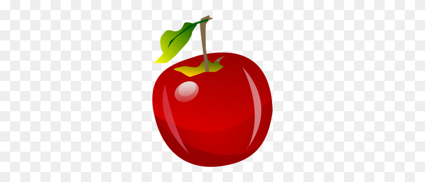 Apple Fruit Images Clip Art - Sliced Apple Clipart