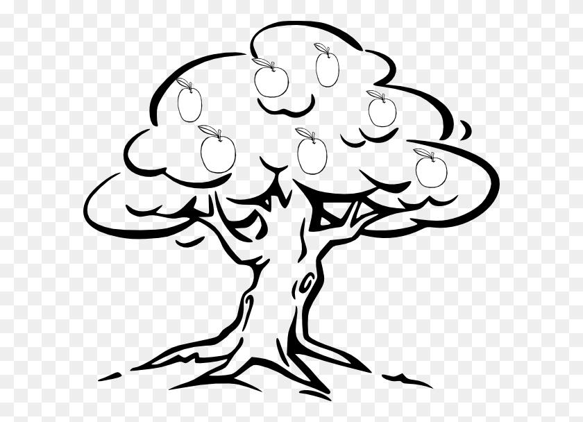Apple Tree Clip Art - Mango Clipart