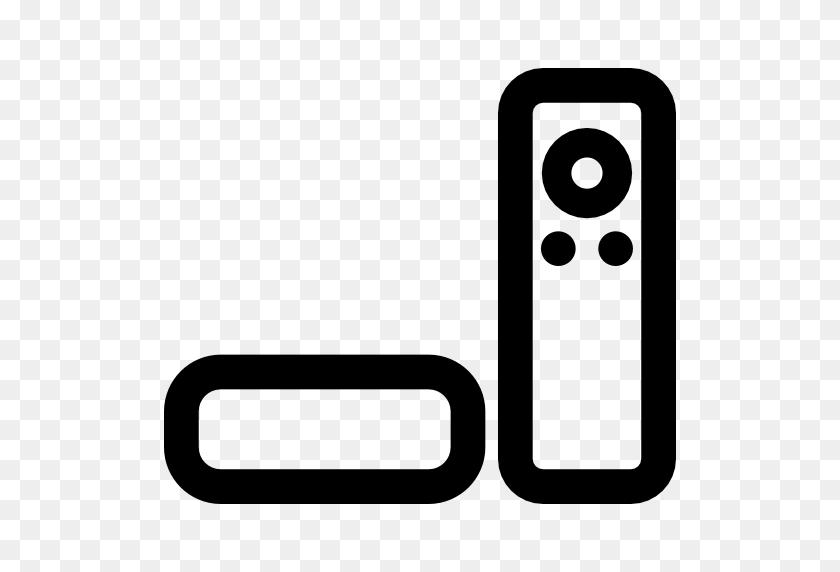 Apple Tv, Remote Control, Technology, Macintosh Icon - Tv Remote