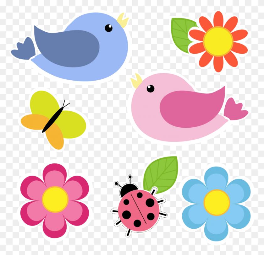 April Showers Clipart Butterfly Clipart - April Flowers ...
