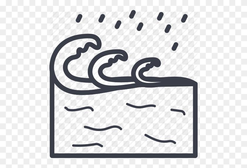 Aqua, Ocean, Sea, Water Splashing, Water Waves Icon - Water Splash Clipart PNG
