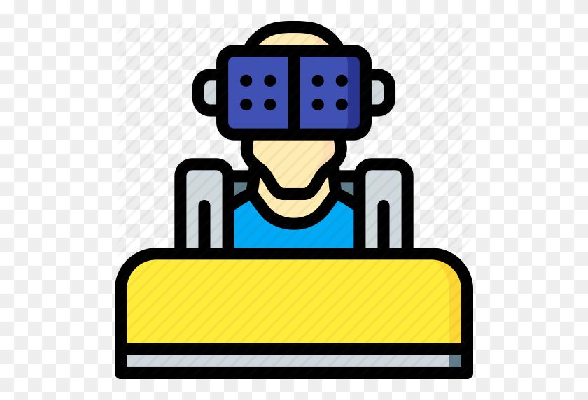 Arcade, Coaster, Reality, Roller, Virtual, Virtual Reality, Vr Icon - Cartoon Roller Coaster Clipart