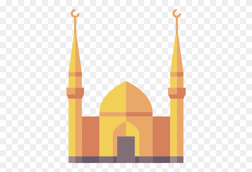 512x512 Architecture, Islam, Buildings, Islamic, Mosque, Monuments - Mosque Clipart