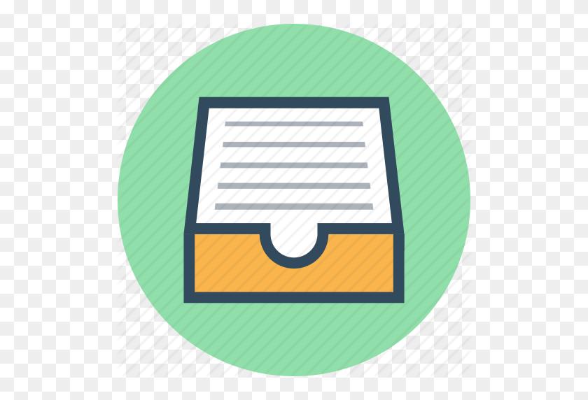Archive, Document Folder, Folder, Inbox, Storage Icon - Manila Folder PNG