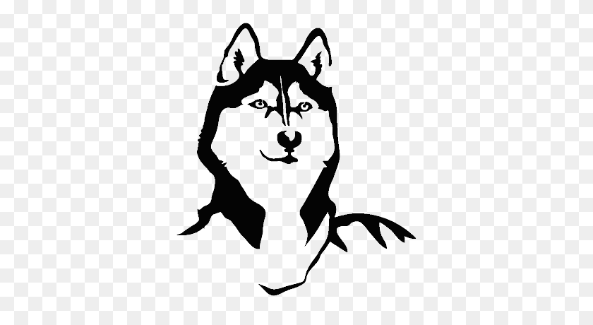 Arctic Paws - Sled Dog Clip Art