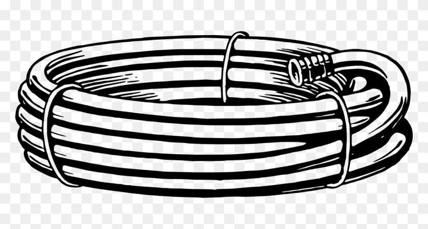 Are Rv Water Hoses Just A Gimmick Rv Miles - Rv Clipart Black And White