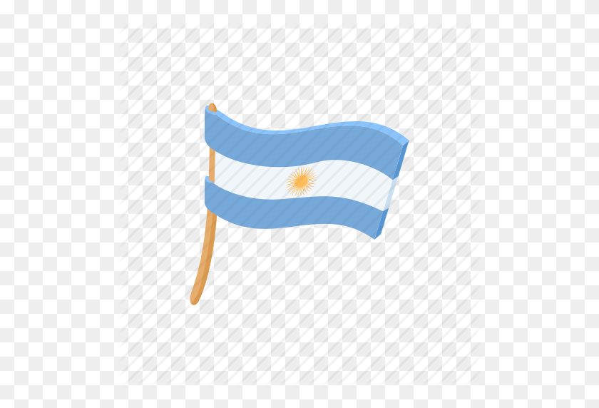 512x512 Argentina, Argentinian, Flag, Nation, National, Patriotism, Sun Icon - Argentina Flag PNG
