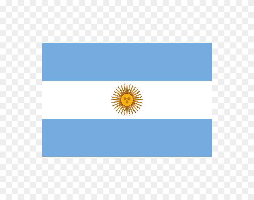 570x600 Argentina Flag Polyester - Argentina Flag PNG