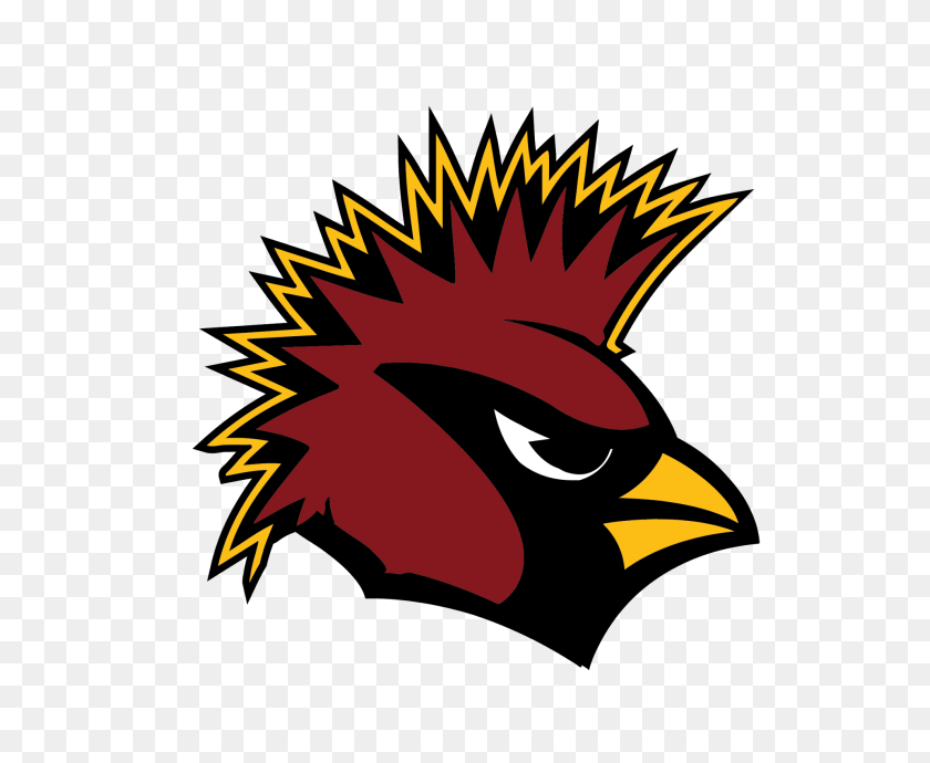 Arizona Cardinals Heavy Metal Logos Baseball - St Louis Cardinals Clip Art