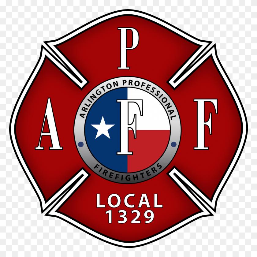 Arlington Professional Firefighters Maltese Cross Logo - Maltese Cross PNG