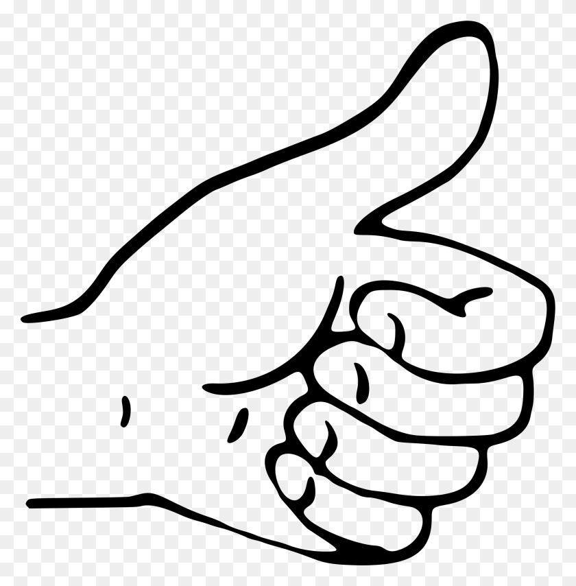 Arm Clipart Thumb Up - Thumb Clipart
