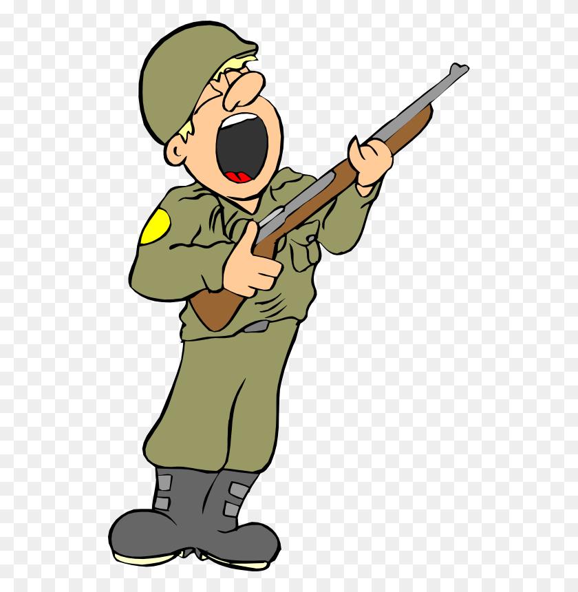 Army - English Bulldog Clipart