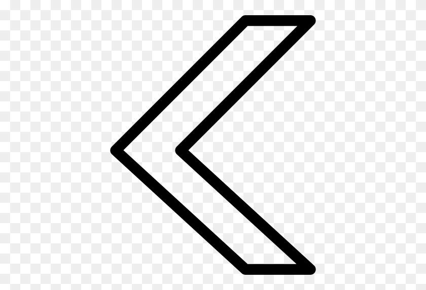 512x512 Arrow Back Icon Line Iconset Iconsmind - Arrow White PNG