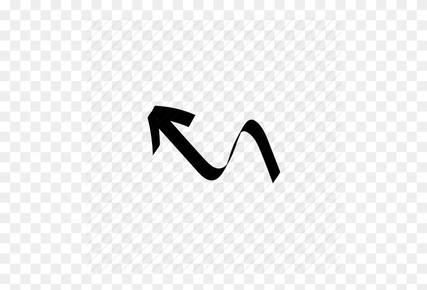 512x512 Arrow, Direction, Doodle, Drawn, Hand, Handdrawn, Sketch Icon - Arrow Doodle PNG