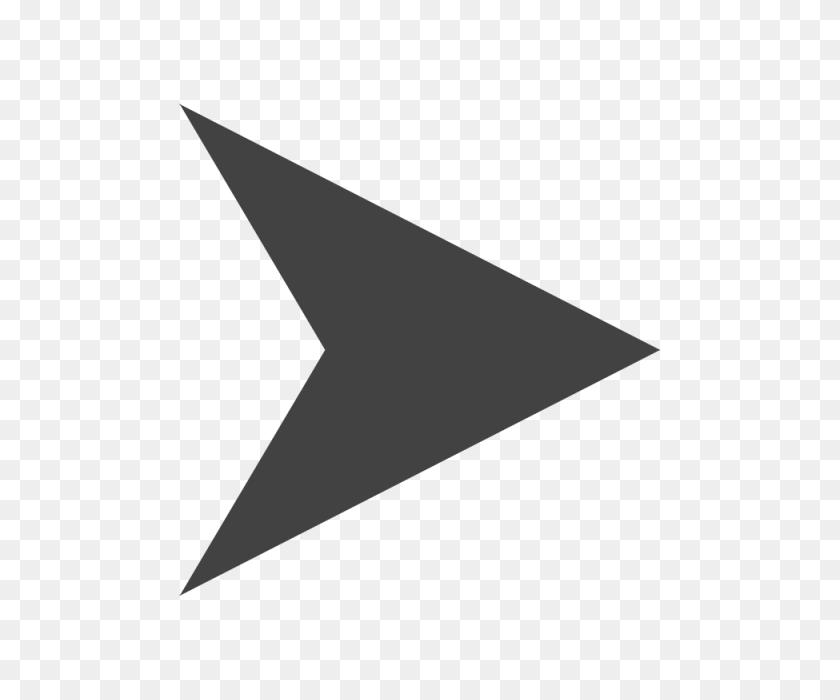 640x640 Arrow Icon In Flat Style Arrow Symbol Web Design, Logo Ui Vector - Arrow Vector PNG
