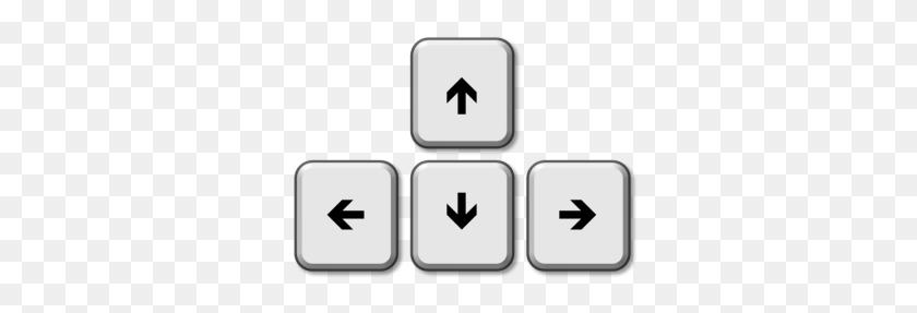Arrow Key Cliparts Free Download Clip Art - Piano Keys Clipart
