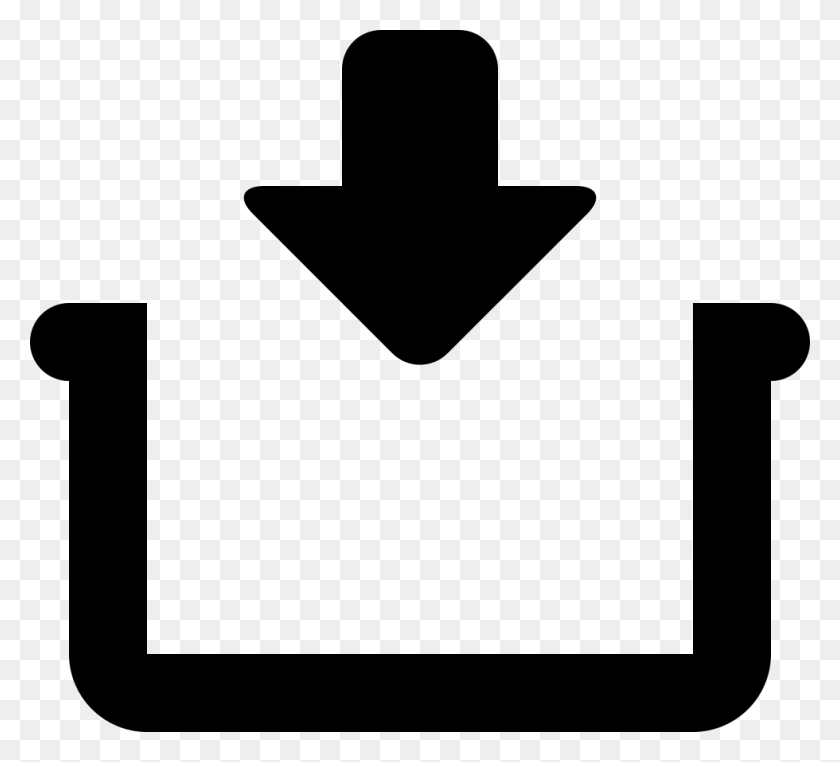 Arrow Pointing Down A Container Png Icon Free Download - Arrow Pointing Down PNG