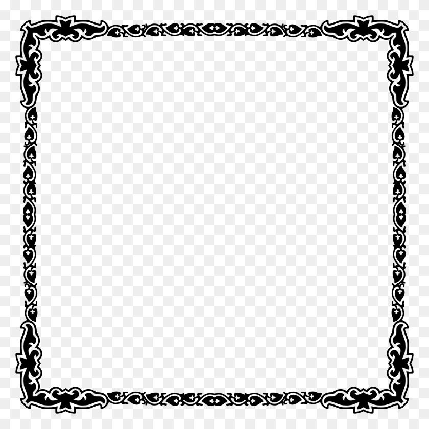2284x2284 Art Deco Frame - Art Deco Clip Art