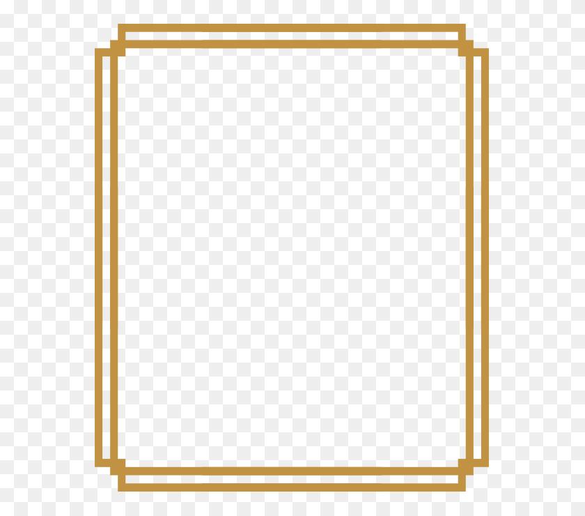 580x680 Art Deco Frame - Art Deco Frame PNG