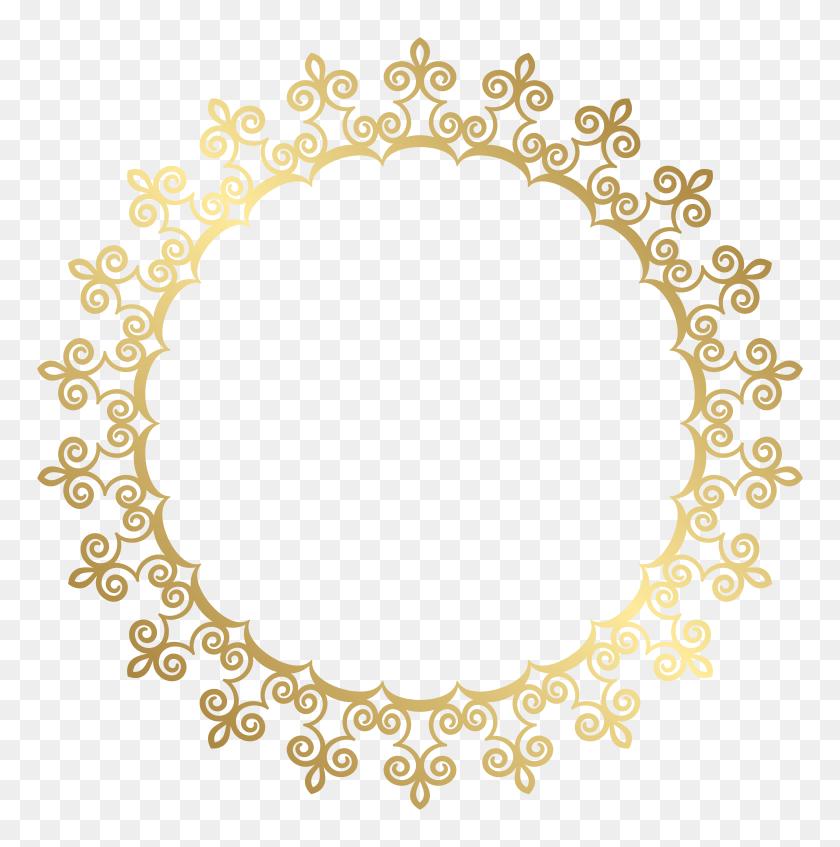 Art Images, Clip Art - Gold Border PNG