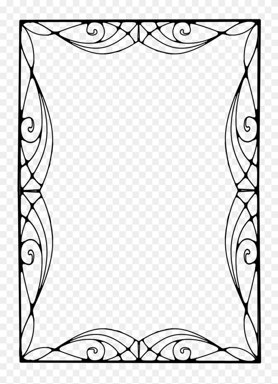 900x1273 Art Nouveau Png Free Transparent Art Nouveau Images - Art Deco Frame PNG