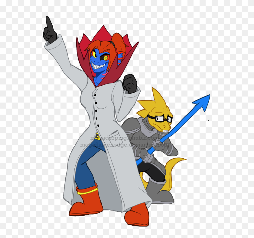 Art Undyne Would Make A Terrifying Mad Scientist Also Includes - Mad Scientist Clipart