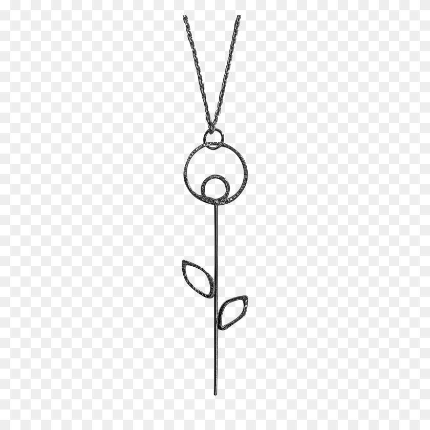 3843x3843 Artdeco Flower Necklace Emma Hunter Jewellery Handmade Silver - Art Deco PNG
