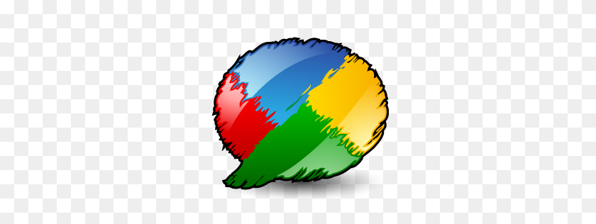 Artistic, Buzz, Google, Google Buzz Icon - Artistic PNG