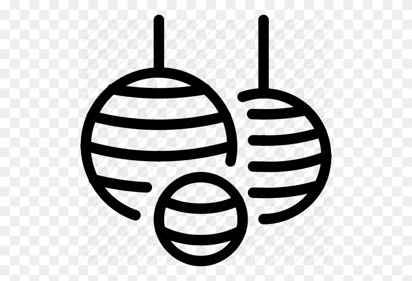 512x512 Asian, Ball, Ceiling, Chandelier, L Light, Lighting, Lights Icon - Chandelier Clip Art