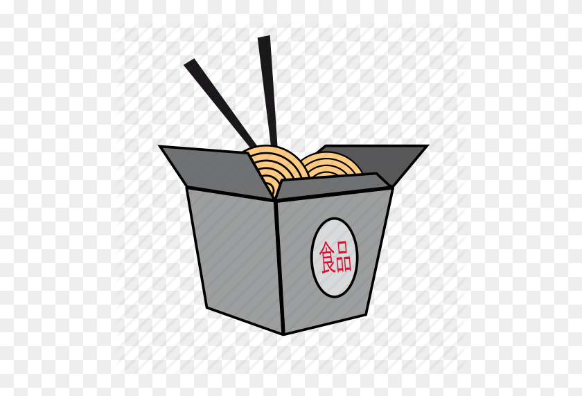 Asian Food, Chinese Food, Food, Noodle, Pasta, Pasta Box, Take - Chinese Food PNG