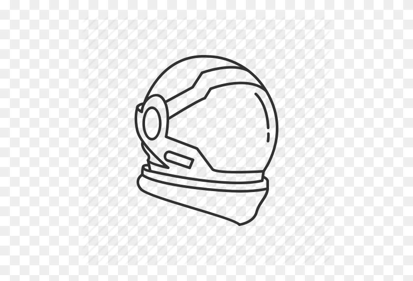 Astronaut, Astronaut Helmet, Helmet, Space Helmet Icon - Space Helmet PNG