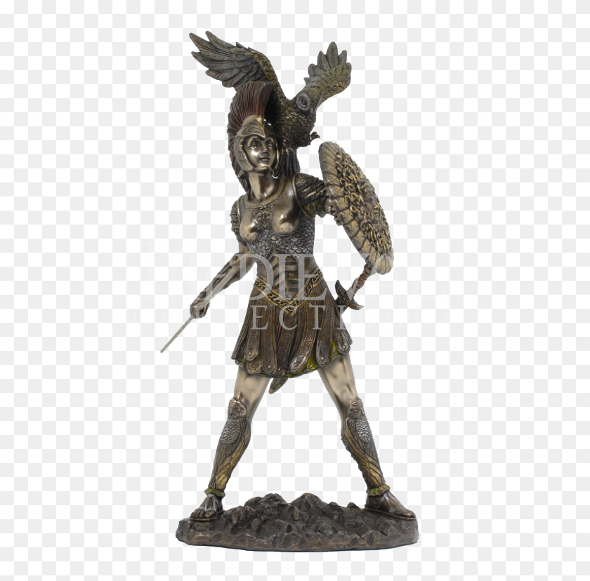 Athena Statue Decor Mythology, Statue And Greek - Greek Statue PNG