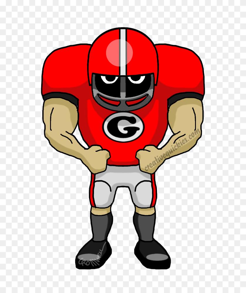 Athens Georgia Bulldogs - Georgia Bulldog Clipart