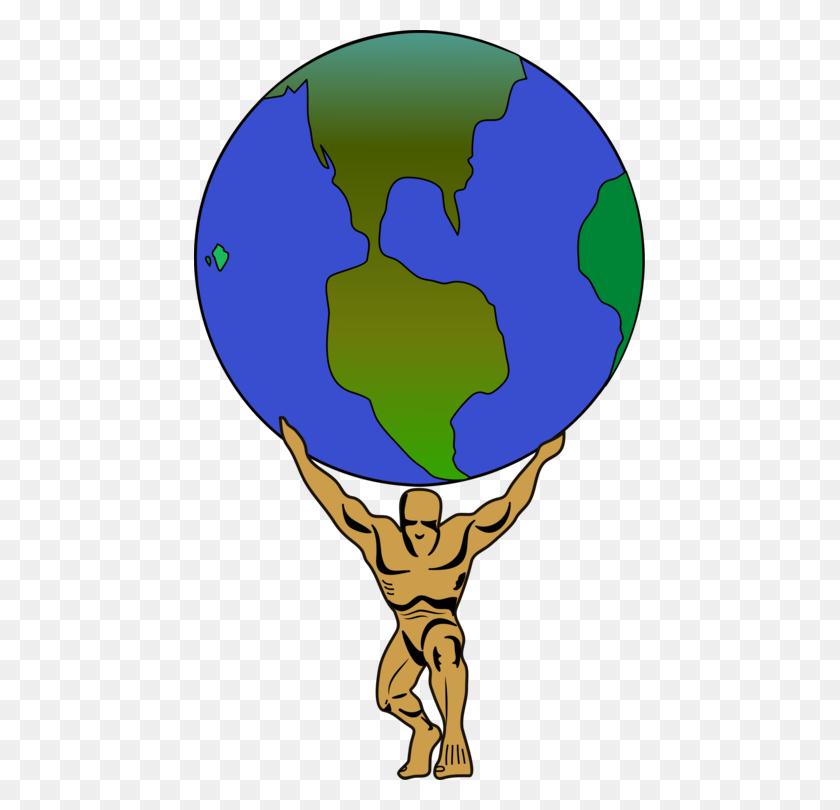 Atlas World Map Globe Greek Mythology Computer Icons Free - Snow Globe Clipart