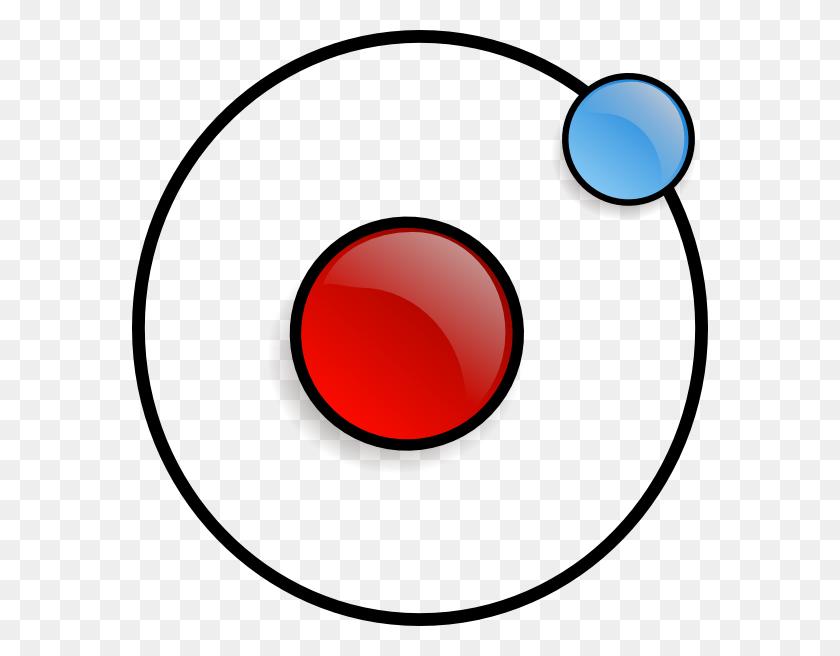 Atom Symbol Clip Art - Orbit Clipart
